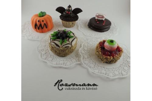 Halloweeni sütemény csomag